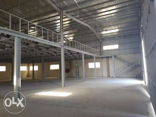 Store for rent in industrial area.