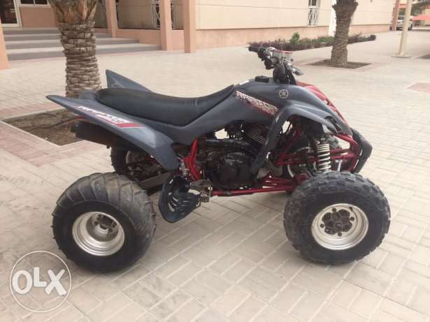 raptor 350 barley used. like new negotiable