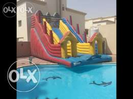 Unfurnished 3-BR Villa in Ain Khaled-Gym-Pool