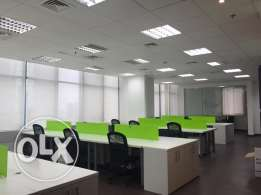 164 sqm furnished office at 17,000 QR/month on C Ring Road