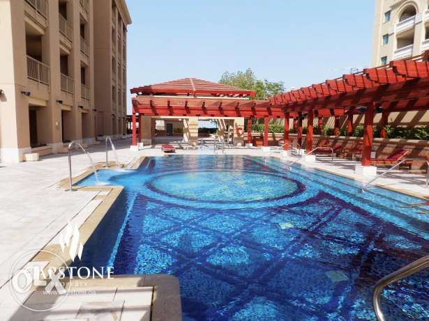 FREE ONE MONTH, 1BR Apt in Porto Arabia - The Pearl الؤلؤة -قطر -  2