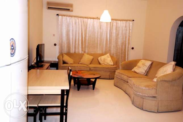 include w & e..fully furnished 1 bhk apartment at bin omran