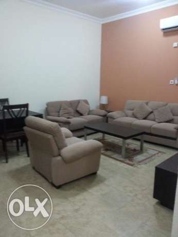 Two Bedroom Fully Furnished Free Water and Electricity for QR 6000