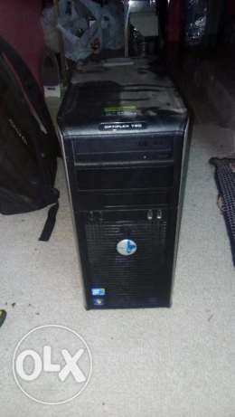 dell optiplex 780 1 gb ddr3 ram 1 tera byte hdd 17 inch monitor for on