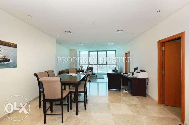 Furnished 2 Bed in Famous ZigZag Tower الخليج الغربي -  2