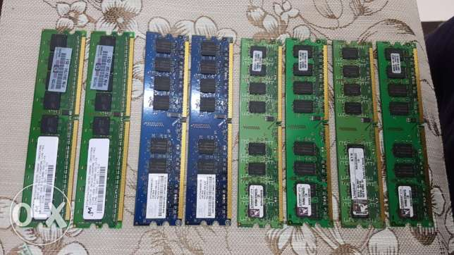 DDR2 4 x 2GB RAM Kingston