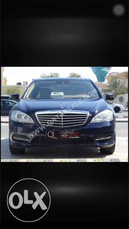 Mercedes S350 AMG 2012 very low mileage