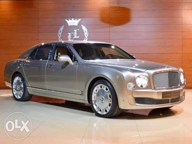 2011 Bentley Mulsanne, GCC Specs (Veneered Picnic Tables)