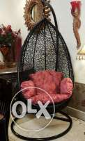 Hanging chair for inside or outside