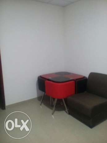 Fully furnished 1bhk rent in hilal behind Amana tower