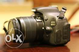 Canon EOS 600D SLR Camera with EF-S 18-55mm f/3.5-5.6 DC III Lens