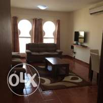 Spacious 2 bhk fully furnished flat in old airport for family