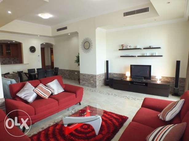fully furnished one bedroom flat for rent in pearl