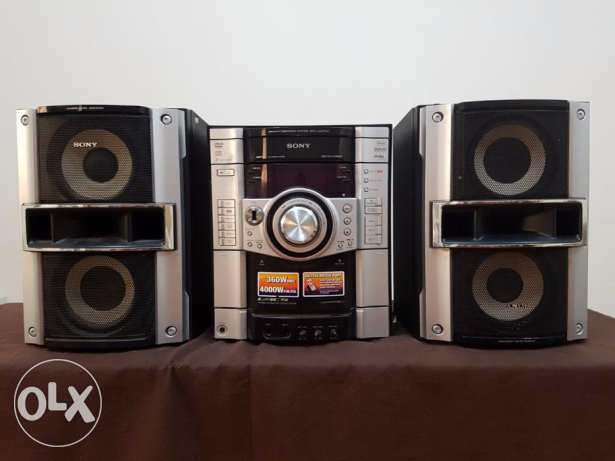 Sony music system for sale