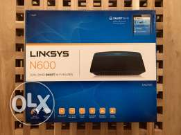 Linksys N600 dual band smart wifi router