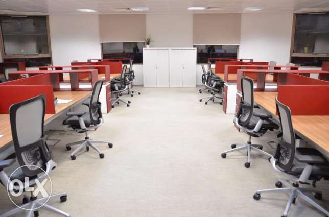 VERY NEW with FULLY Furnished Offices for RENT in AL SADD