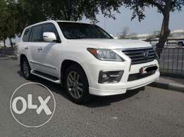 Lexus Lx570 model 2014 full options, accident free