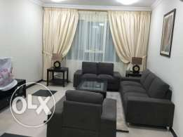 VERY BIG one bedroom flat at al sadd clean and including water and ele