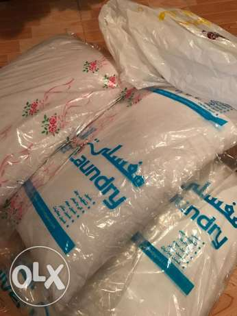 several bed pillows almost new - sale for moving