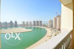 Promoted 2 Bed + MR apartment facing Marina view