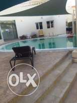 For rent; 04 BHKSemi furnished villa:- Old Airport