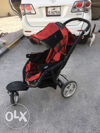 chicco baby stroller with baby pram and carseat الوكرة -  3