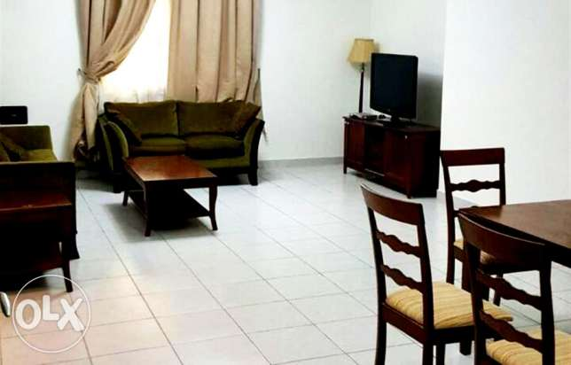 very nice fully furnished 2 bhk apartment in bin omran