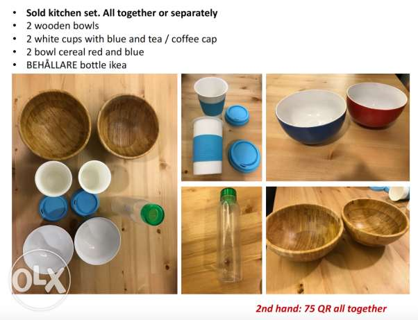 Kitchen set. All together or separately