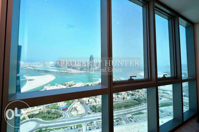 Furnished 2 Bed in Famous ZigZag Tower الخليج الغربي -  1