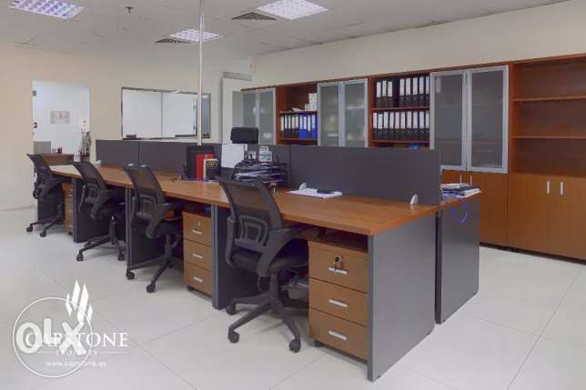 Fully Partitioned Office Strategically Located