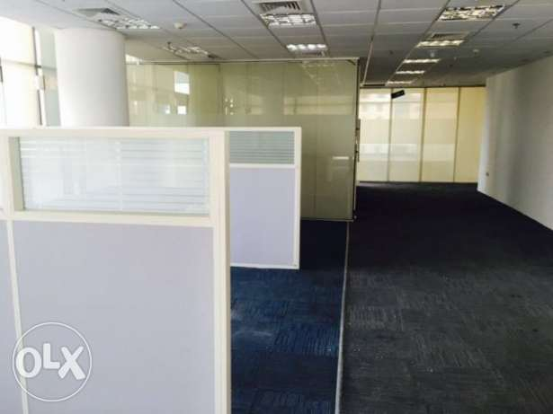 Fully-Furnished, Office Available in West bay الخليج الغربي -  1