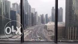 office space 254 sqm with City Center view west bay