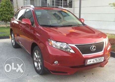 2012 Lexus RX350 3.5 Liter V6 All-wheel-drive SUV الريان -  1