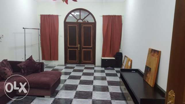Spacious 1bhk APARTMENT Stayle of villa in Ainkhaled عين خالد -  1