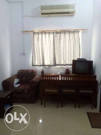 1bhk fully furnished villa in Ain Khalid for family