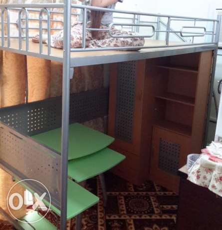 Space Saver Bunk Bed الغانم -  2