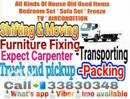 Moving Shifting, Carpentry services at Qatar call us