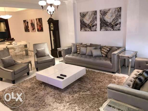 flat new furnished apartment with a large area in a pearl facing Ferr