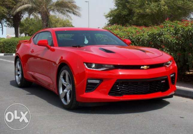 2017 chevrolet camaro 2ss package 6.2l v8 455 hp hud Red Trim