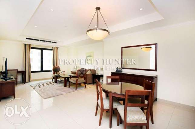 Capacious Fully Furnished 1 Bedroom