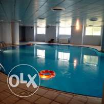 Unfurnished HUGE 3-Bedrooms Apartment in AL Nasr + Gym+pool