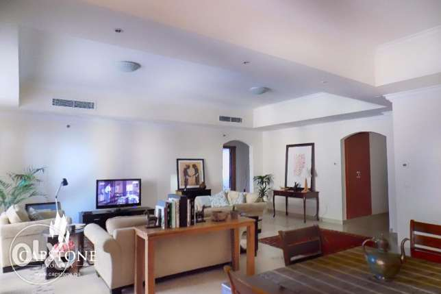 Fully-furnished 2BR Apt. in Porto Arabia, The Pearl