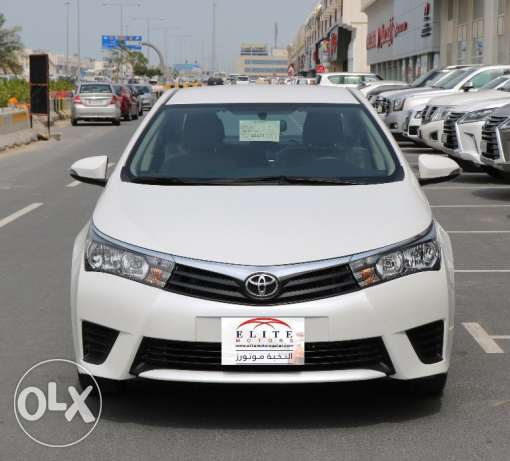 Toyota - Corolla XLI / 2000 CC / 143 HP MODEL 2016