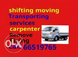 Shifting moving Trenasopoting services