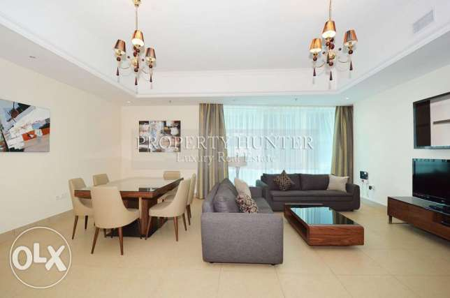 2 bed furnished apartment + 1 month free