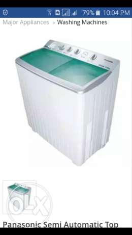 Panasonic washing machine 12 kg