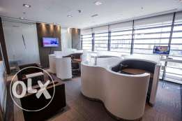 Fully furnished offices, ready to move in - Jaidah Square