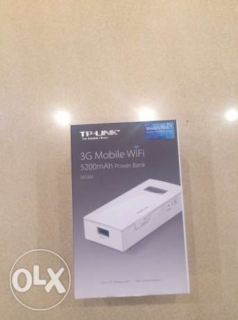 3G Mobile WiFi Device + 5200mAh Power Bank