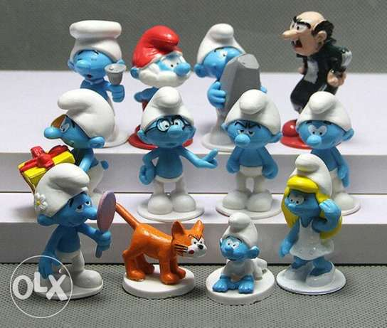 Smurfs Action Figures Playset