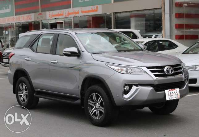 NEW Toyota - fortuner - 2017
